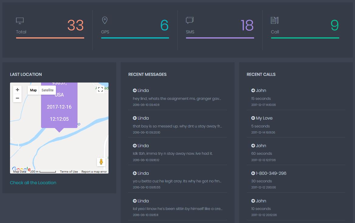 Method 1: Hack phone using the Phone Tracker App